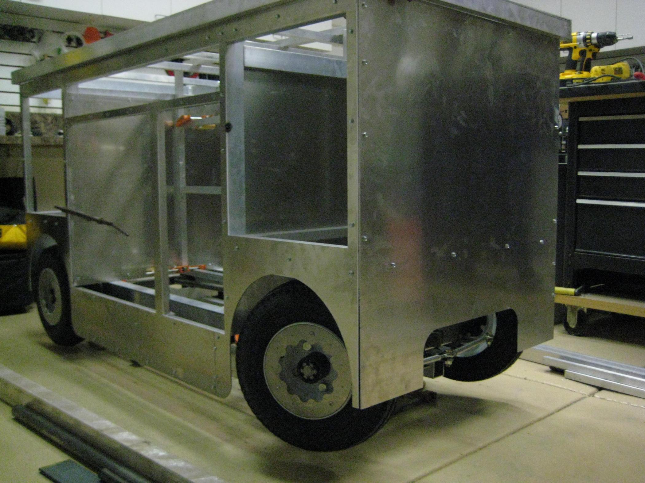 Pit Tool Cart Plans