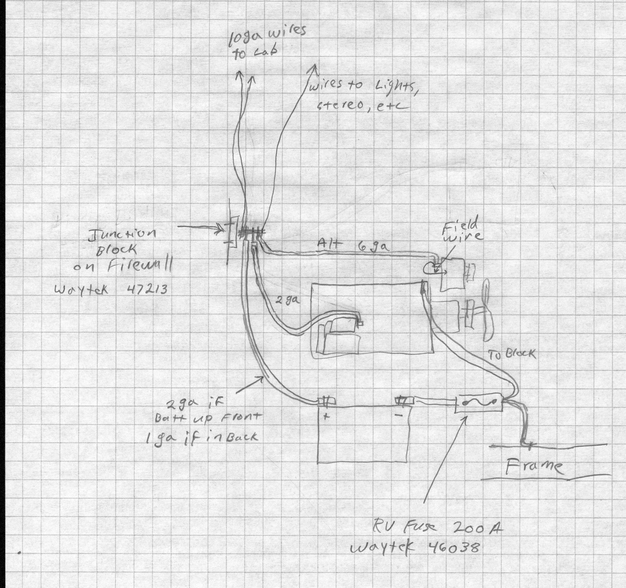 Wire Alternator Wiring As Well 1980 Chevy Truck Wiring Diagram On 84