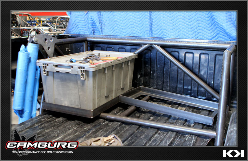 Camburg build - Chevy 1500 Long Travel chase truck / Pre