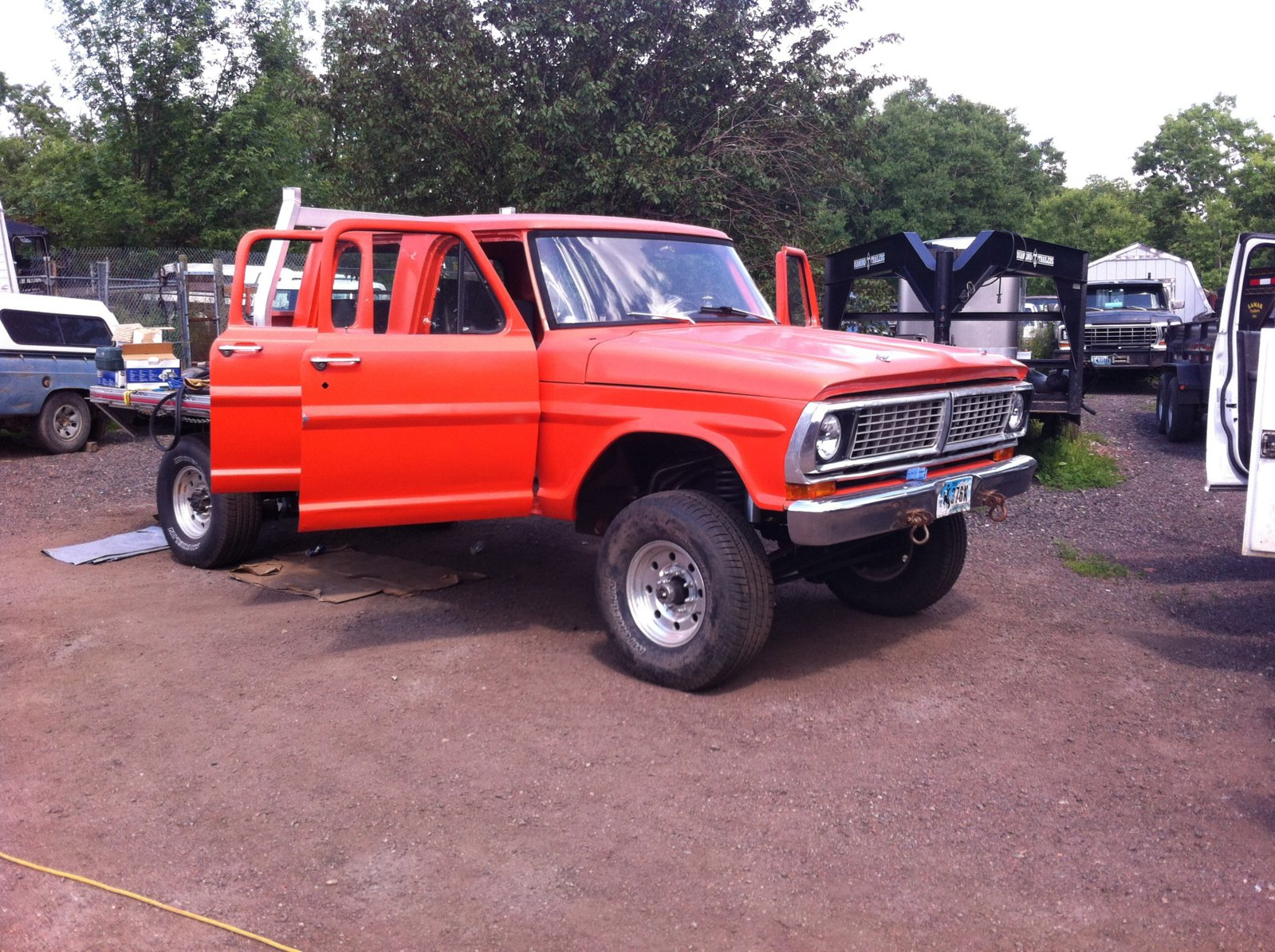 1968 To 1979 Ford Trucks Photos Page 8 Race Dezert 1970 Ranger Camper Special My Crew 4x4 Linked Front Suspension 66 Leafs Rear Overdrive Fuel Injected Auto Fab Glass And Many Other Small Parts