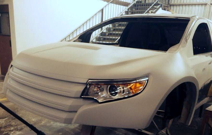 Ford Edge For Us Customer In 15 Dakar In Fiberwerx Shop Currently