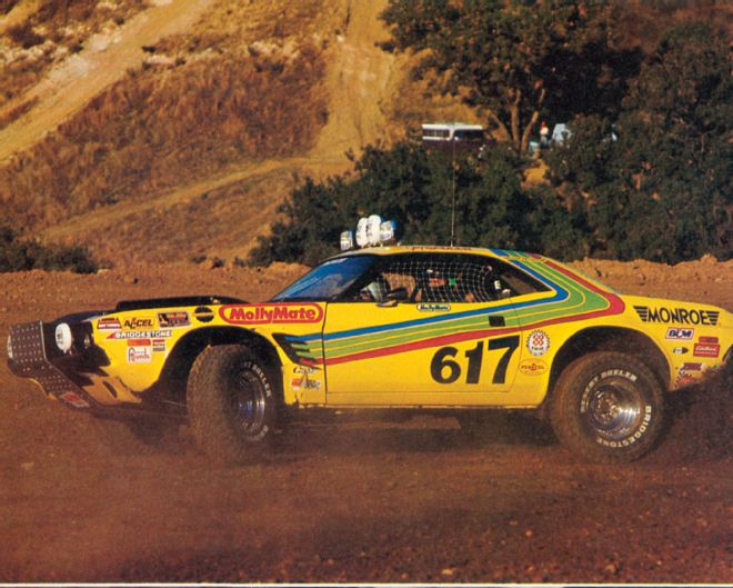 Where Is The Yellow Streak Off Road Challenger Race Dezert