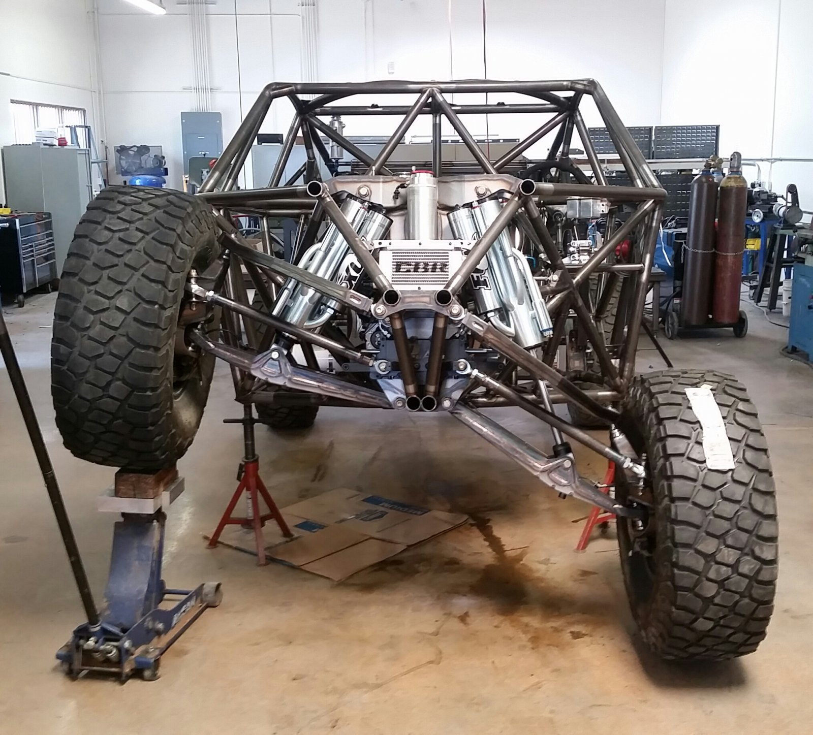 Mason Motorsports Trophy Truck Build Race Dezert