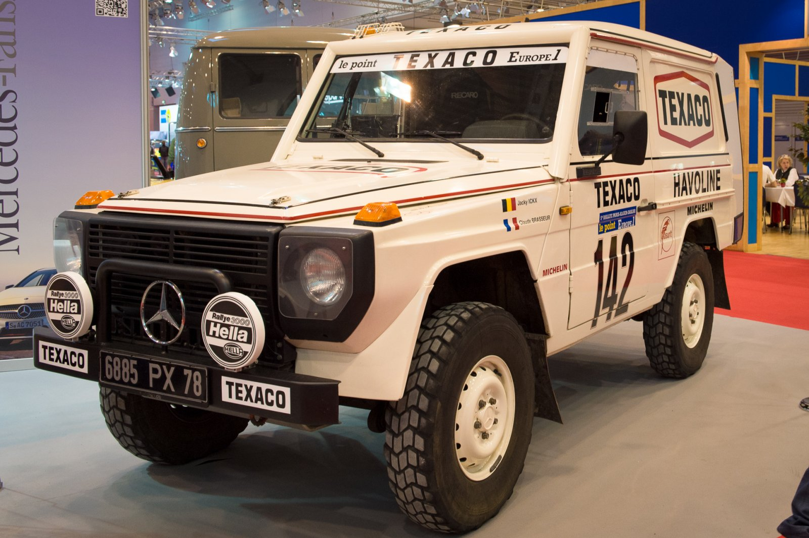 Rally raid g wagen build for the sonora rally race dezert for Mercedes benz build