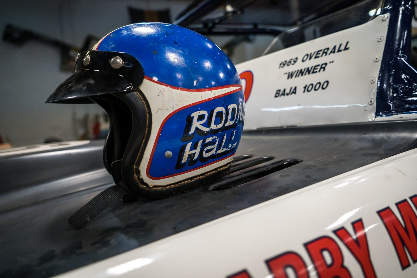 Vintage Off Road Racing Helmets Race Dezert