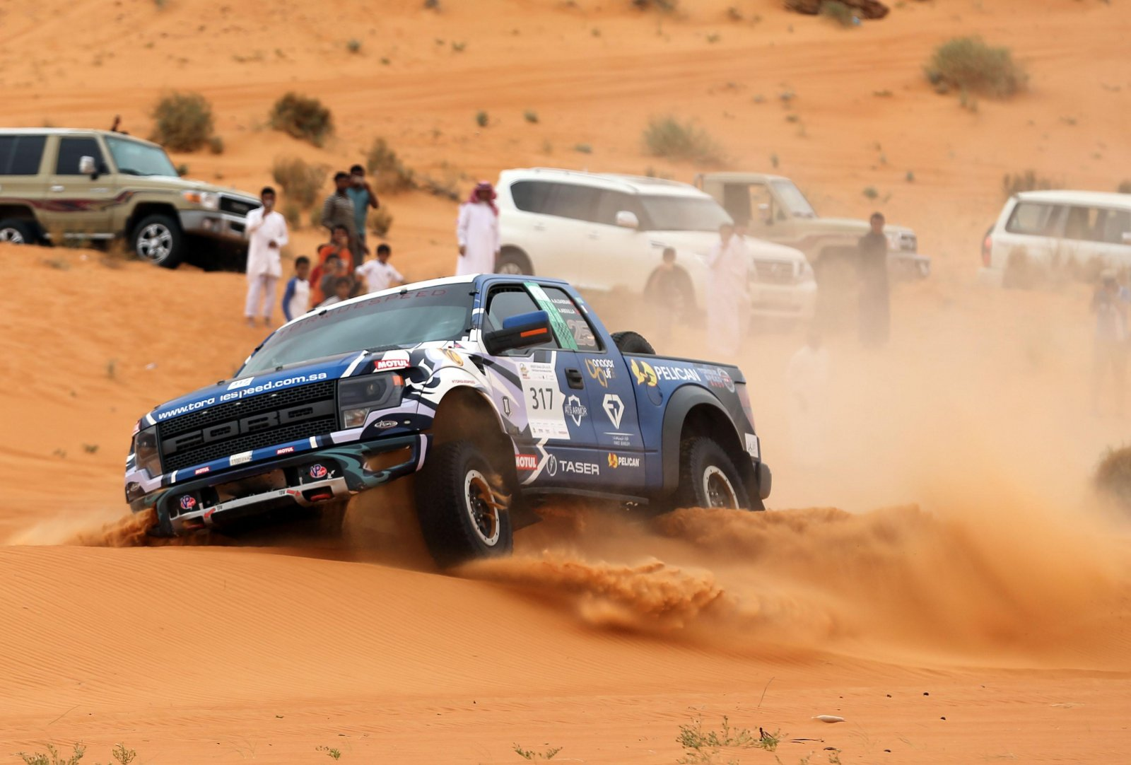 Ahmed Al-Sabban has moved into an unofficial eighth place after leg three in Ha'il..jpg