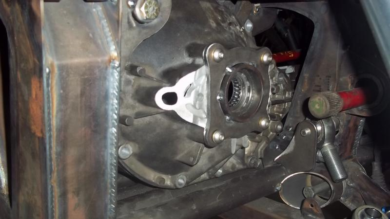 Center mount AAM 9 25 front differential | race-deZert