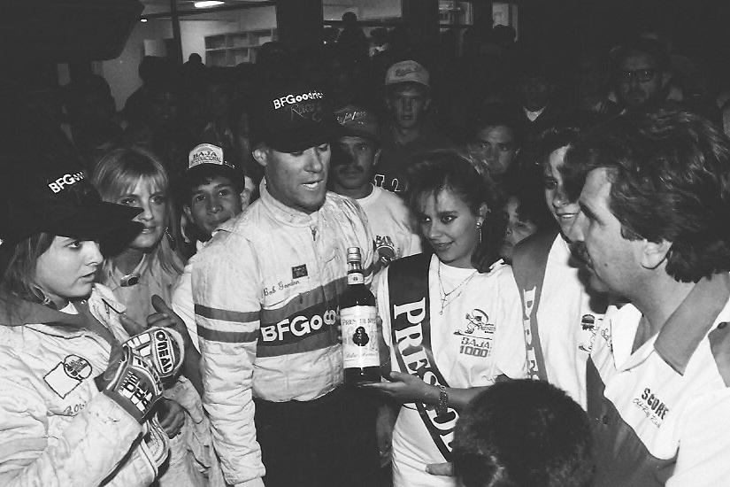 1990.Baja 1000.Bob Gordon at Finish.jpg