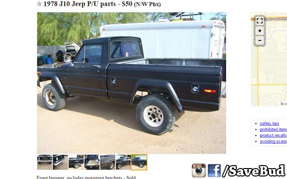 Roger Mears Budweiser Jeep J-10 Honcho ++ Restoration ++