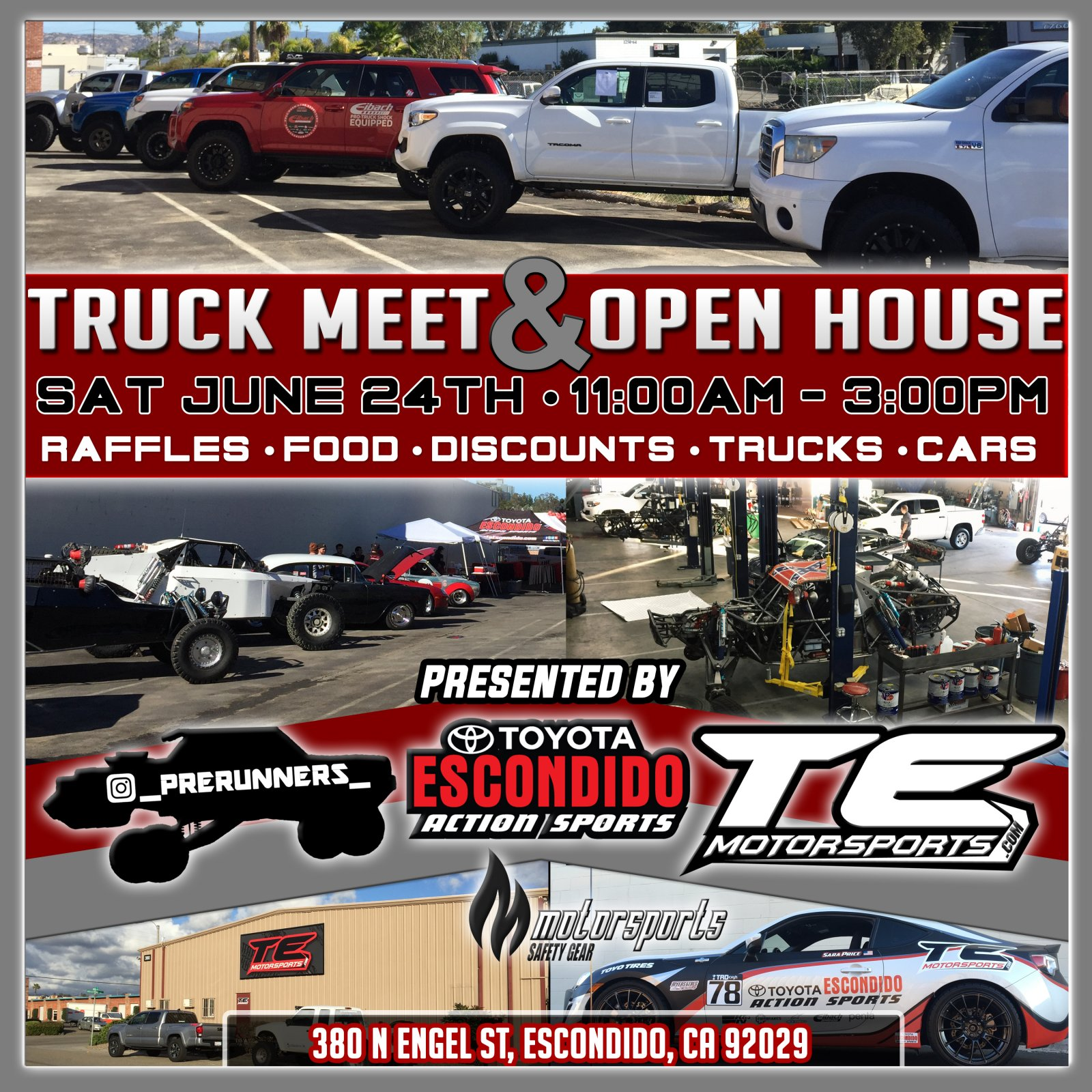 Join us at TE Motorsports Open House June 24th