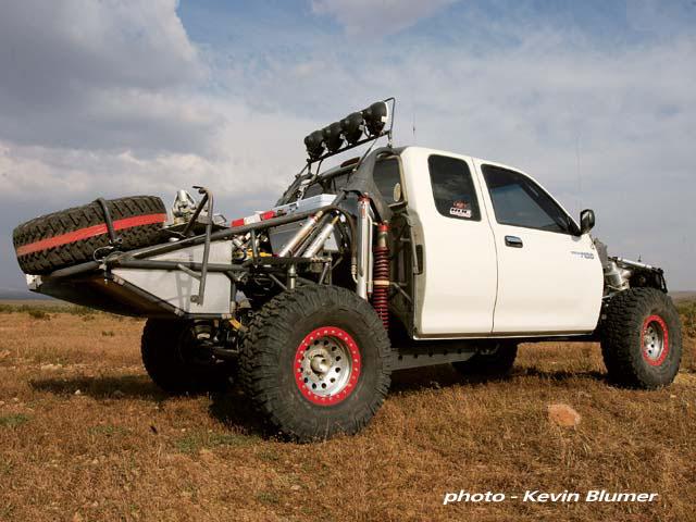 Curtis Guise Project Vehicle - Toyota T100   race-deZert