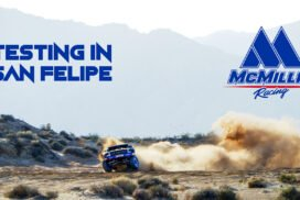 McMillin Racing Tests For The San Felipe 250