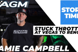 AGM Story Time / Jamie Campbell / Stuck Throttle at Vegas To Reno!