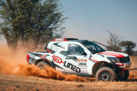 2021 Kalahari Rally / Stage 6: A Run for Your Money
