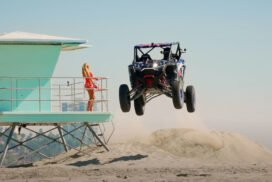 Jump Cuts: SENDING IT in the Streets of Long Beach! In The New Polaris RZR Pro R